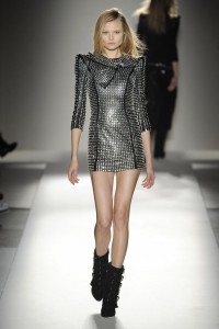 Balmain studded dress